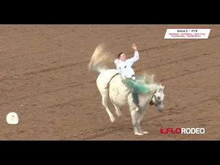 Jesse Pope 82.5 run at International Finals Youth Rodeo 2017