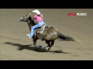 Haily Broussard Barrels at Short Go IFYR 2017