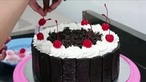 Black Forest Cake How To Make Birthday Cake Chocolate At Home