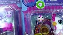 Littlest Pet Shop Sprinkle Maltese Puppy Dog LPS Chicken Rolleroos Friends Toy Review Cookieswirlc