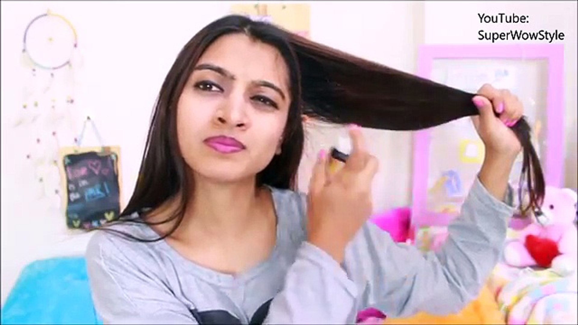 My Daily Hair Straightening Routine: How to Get Perfect POLISHED Hair | SuperWowStyle