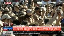 """Jean-Luc Mélenchon: """"Personne n'avait jamais parlé au peuple français de cette façon, pas même les rois !"""""""