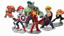 Paw Patrol #03 - marvel super heroes hulk iron man captain america thor patrulha canina