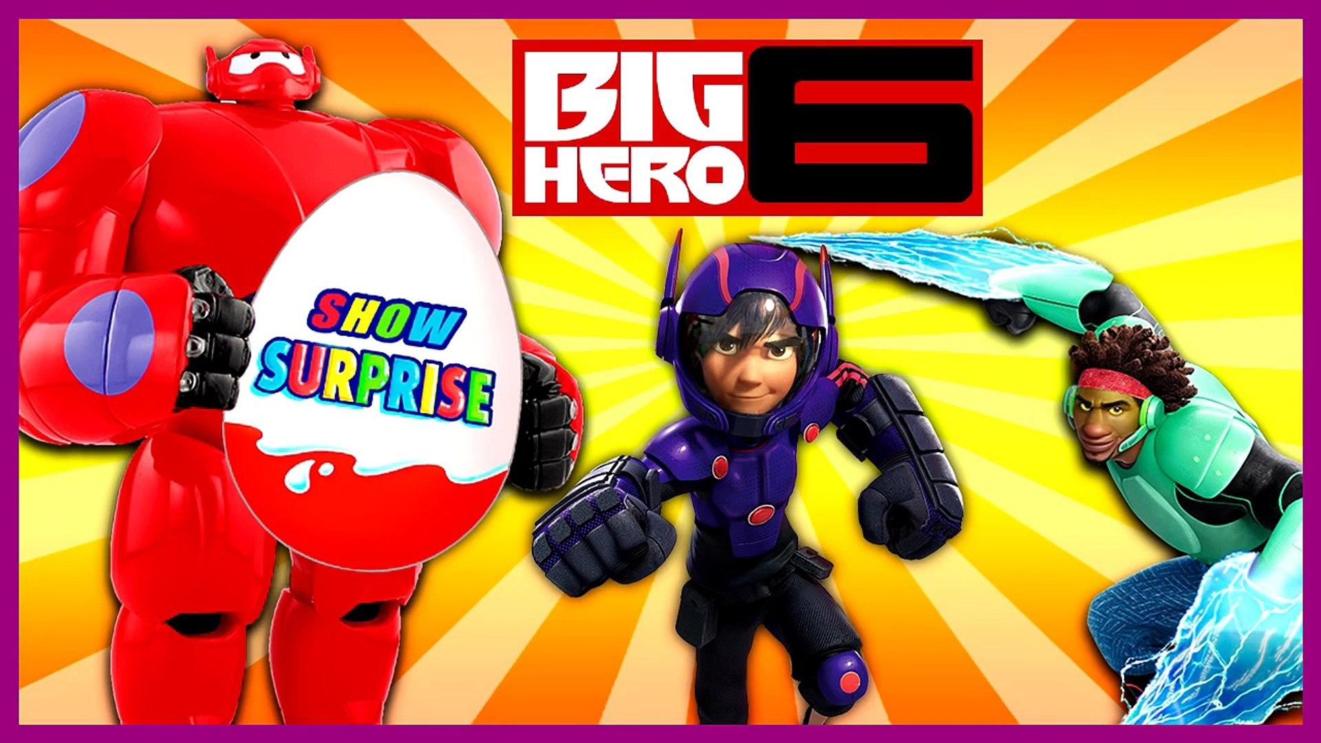 Surprise Show!!! Kinder Surprise - Big Hero 6. Город героев - новый мультик Киндер сюрприз!!!
