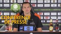 Conférence de presse FC Lorient - AS Nancy Lorraine (0-0) : Mickaël LANDREAU (FCL) - Vincent HOGNON (ASNL) - 2017/2018