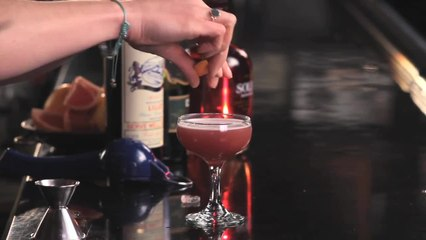 Blood and Sanguinello Cocktail - The Proper Pour with Charlotte Voisey - Small Screen