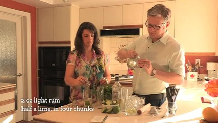Mojito Cocktail - Home Bar Basics with Dave Stolte - Small Screen
