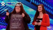 Opera duo Charlotte & Jonathan - Britains Got Talent new audition - International version