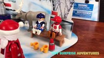 GAME ON with PLAYMOBIL NHL Ice Hockey Playset! Advent Calendar Toy Surprise Stanley Cup Playoff Fun
