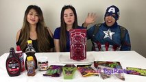 Worlds Largest GUMMY BEAR Challenge Princess Eat GIANT GUMMY BEAR Food Challenges for Kid ToysReview