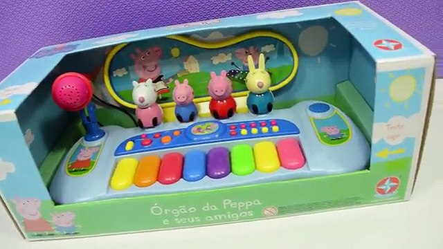 Peppa Pig - Brinquedo Piano da Peppa Pig em Portugues - Turma kids
