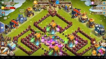 Castle Clash - Here Be Monsters - Wave F - Best Setup For Town Hall Level 15