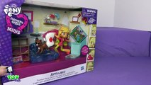 My Little Pony Applejack Equestria Mini Slumber Party Set!!! By Bins Toy Bin