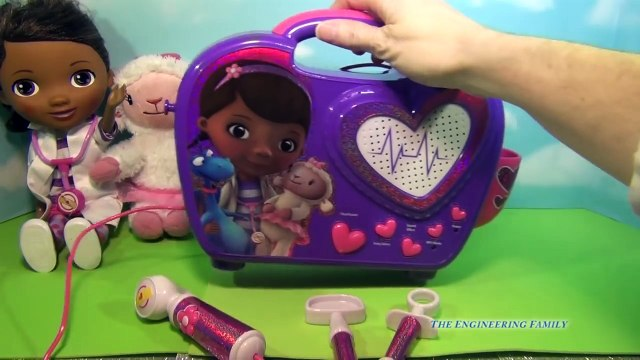 Disney Junior Doc McStuffins Rockin Doc Sing Along Boom Box Toy