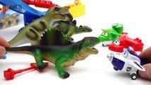Toys Vs. Toys~! Go Dinotrux Superwings Paw Patrol