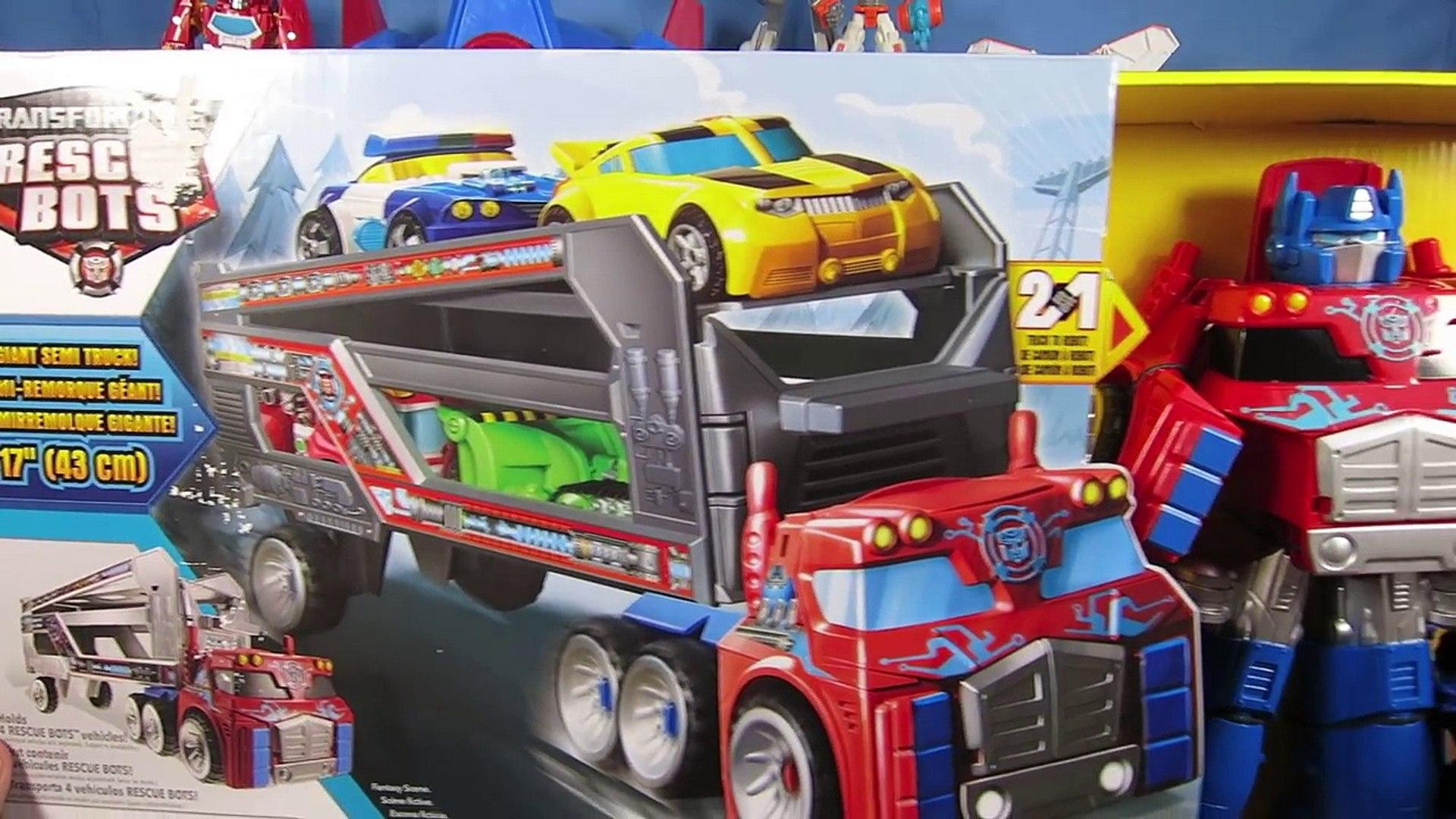 Transformers Optimus Prime Truck Bumblebee Transformation Spielzeug Kinder  Neu Transformers & Roboter