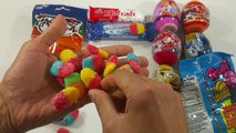 A lot of New Candy Funny looking Beards Candy Surprise Eggs & Lollipops