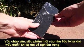 Đừng dại dột mà làm rơi iPhone 8 xuống