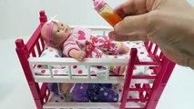 Un et un à un un à vivant et bébés bébé lit des lits couchette poupée dans histoire temps équipe tripler roulette 3