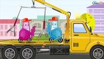 СБОРНИК: Мультики про МАШИНКИ - Эвакуатор спешит на помощь друзьям - Развивающие видео для детей