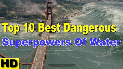 Top 10 Best Dangerous Superpowers of Water 2017 | Most Powerful Waterfall in The World #Art