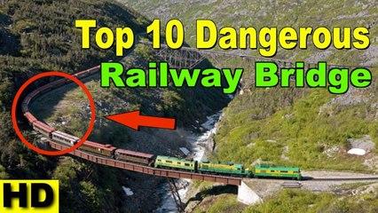 Most Dangerous Railway Bridges In The World #Art