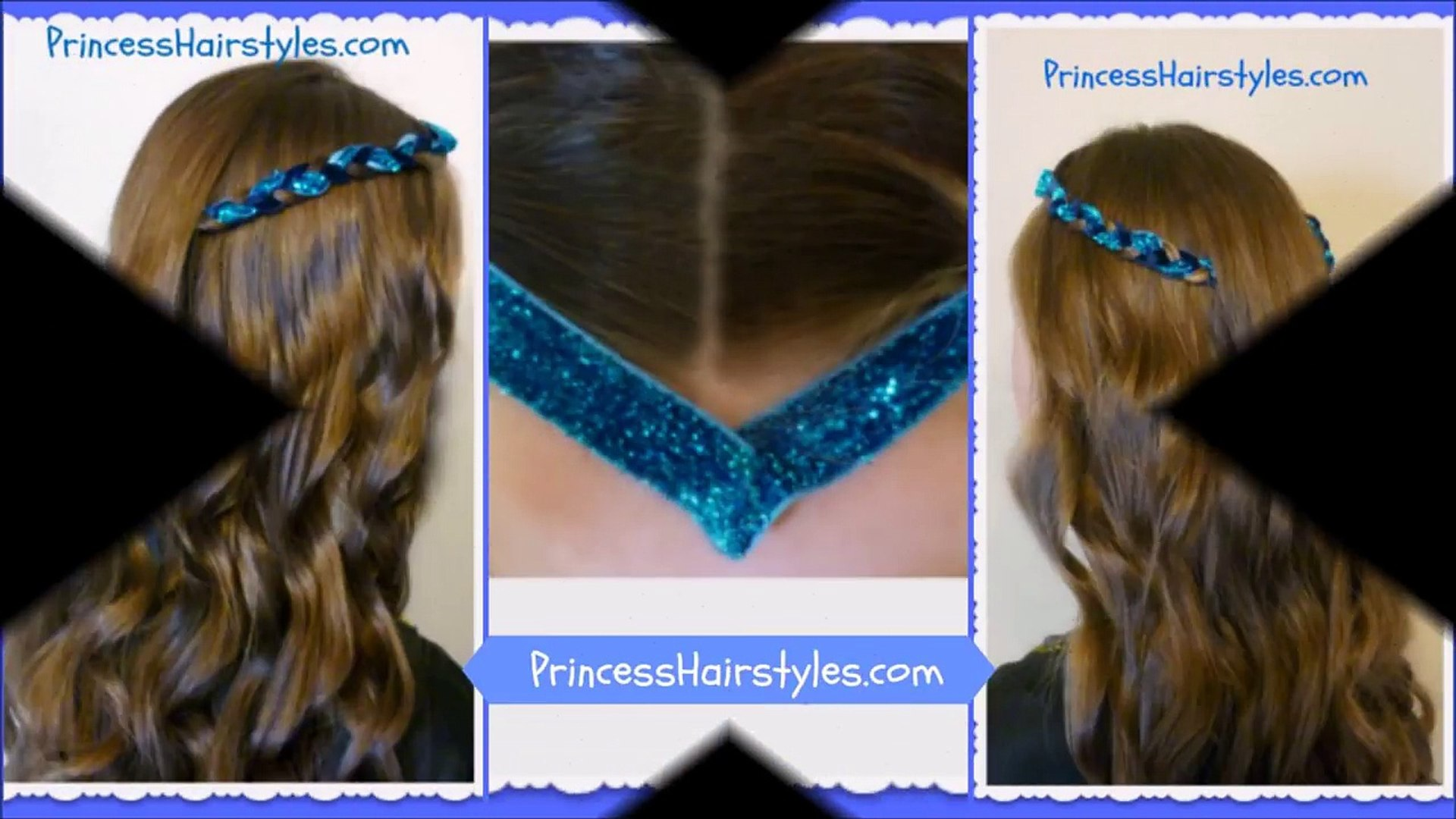 Disney Descendants Hairstyle, Evie or Sofia Carson Inspired
