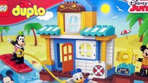 Disney Junior MICKEY MOUSE CLUBHOUSE & Friends Lego DUPLO Beach House , Minnie, Pluto, Goofy / TUYC