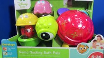 Stacking Cups Nemo Nesting Bath Pals Stackable Disney Finding Nemo Toy Finding D