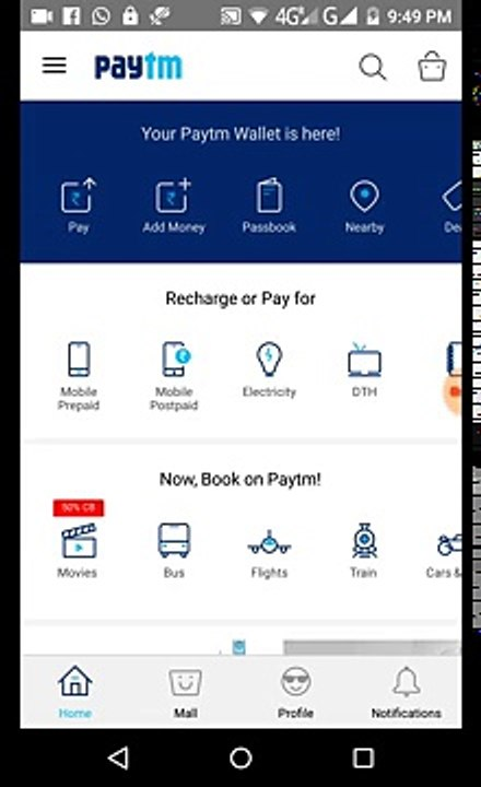 How to pay online mobile postpaid bill with paytm || tech bharti ||