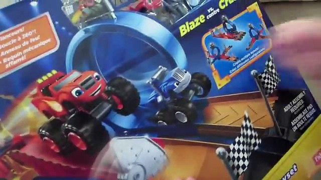 MONSTER TRUCKS Blaze And The Monster Machines TOYS - Monster Dome Playset by Fisher Price