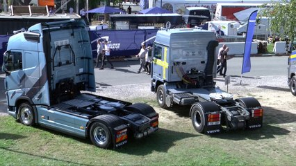 24 Heures Camions 2017 - Entrevue avec Volvo Trucks