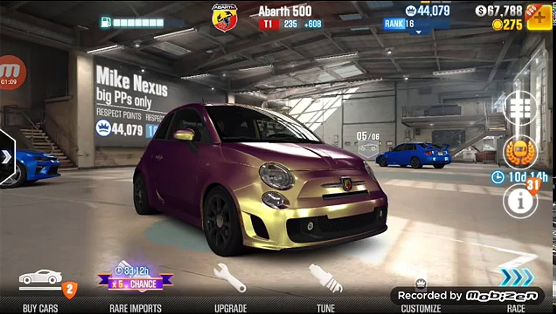 CSR2 tier 1 tuning tips  Perfect launch tutorial and shifting the Fiat  Abarth 500  Best car?
