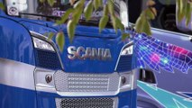 24 Heures Camions 2017 - Entrevue chez Scania