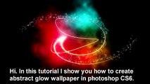 Glow Effect Wallpaper in Photoshop - Tutorial
