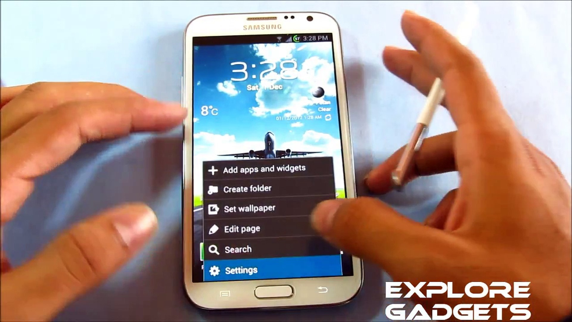 Review - Omega ROM (With Ink effect & Multi-Window control) : Galaxy Note 2