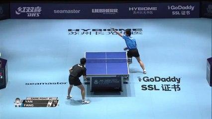 2017 Austrian Open Highlights: Fang Bo vs Yan An (1/2)