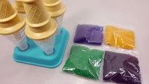 DIY How To Make Orbeez Ice cream Recipe Growing Water Ball 워터볼 개구리알 아이스크림 만들기 팜팜 !!