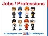 Curso de inglés 19 - Profesiones en inglés Vocabulario para niños Oficios Empleos Trabajos