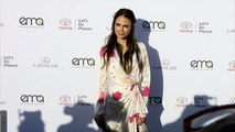 Jordana Brewster EMA's 27th Annual Awards Gala Green Carpet