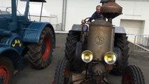 Vieux tracteurs Lanz (1953) et Société Française (1940)