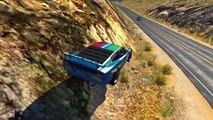 BeamNG Drive - Realistic High Speed Crashes Compilation Montage