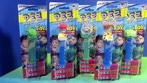 Pixar Toy Story Disney Pez Candy Woody, Rex, Alien, Jessie & Buzz Lightyear