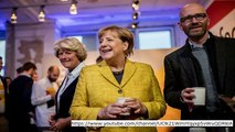 German election: Merkel holds onto leadership but far-right wins first seats since WW2