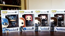 Funko Pop Captain America: The Winter Soldier review - Black Widow, Winter Soldiers & Cap