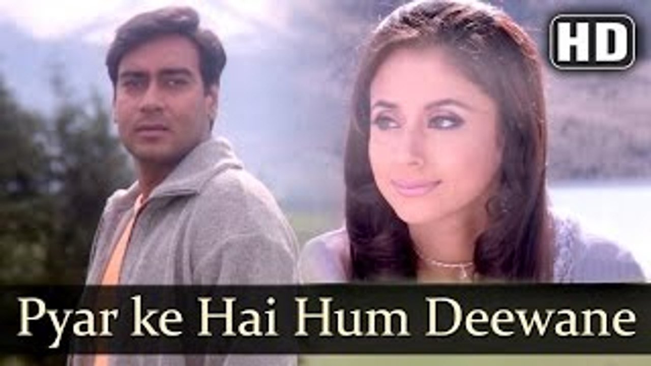 Pyar Ke Hai Hum Deewane (Full HD Song) Deewane (2000) | Ajay Devgan |  Urmila Matondkar | Romantic | Udit, Kumar Sanu, Alka
