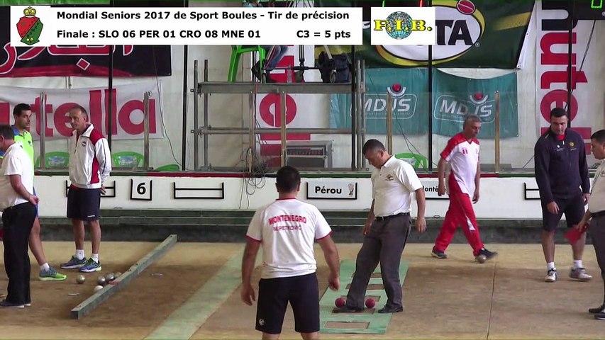 Finale tir de précision, Mondial Seniors, Casablanca 2017