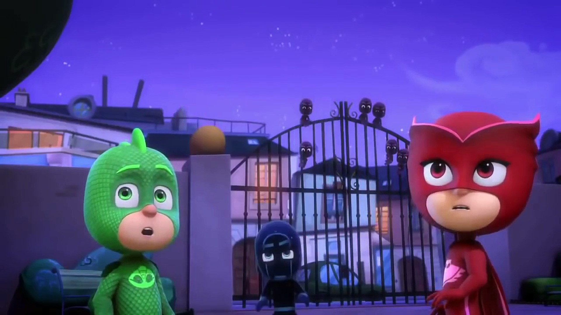 pj masks kids cartoons _  PJ Masks - Superhero Kids Disney Junior Full Episode - Gekko Saves Christm