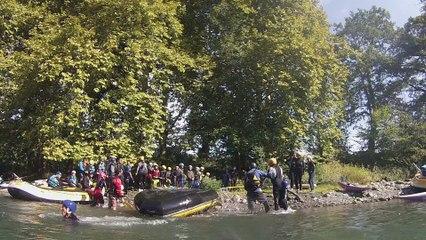 VENTRIGISSE sur rafting (sortie du 23/09/2017)
