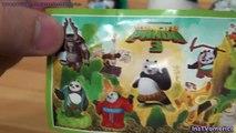 Kinder surprise Kung Fu Panda 3 chocolate eggs Panda Po figure Kung Fu Panda toys Kids video